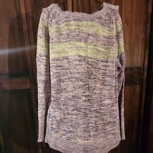 Coldwater Creek long sleeve sweater, 1X